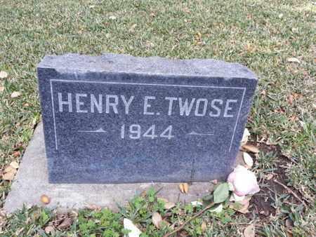 TWOSE, HENRY E. - Los Angeles County, California | HENRY E. TWOSE - California Gravestone Photos