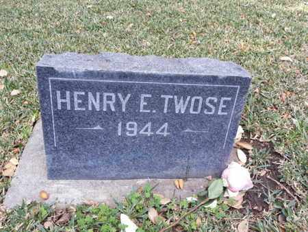 TWOSE, HENRY E. - Los Angeles County, California   HENRY E. TWOSE - California Gravestone Photos