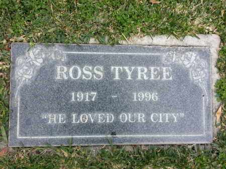 TYREE, ROSS - Los Angeles County, California | ROSS TYREE - California Gravestone Photos