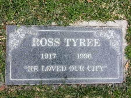 TYREE, ROSS - Los Angeles County, California | ROSS TYREE - California Gravestone Photos