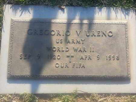 URENO, GREGORIO - Los Angeles County, California   GREGORIO URENO - California Gravestone Photos