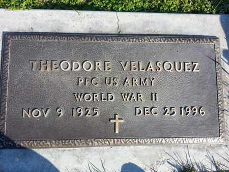 VELASQUEZ, THEODORE - Los Angeles County, California | THEODORE VELASQUEZ - California Gravestone Photos
