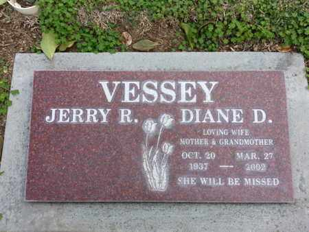 VESSEY, JERRY R. - Los Angeles County, California | JERRY R. VESSEY - California Gravestone Photos