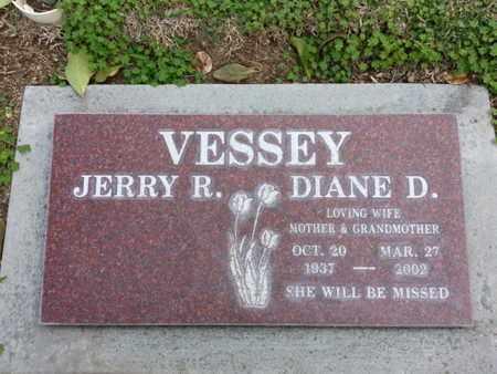 VESSEY, DIANE D. - Los Angeles County, California | DIANE D. VESSEY - California Gravestone Photos