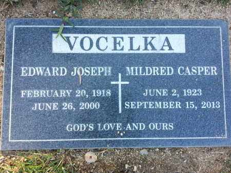 CASPER VOCELKA, MILDRED - Los Angeles County, California | MILDRED CASPER VOCELKA - California Gravestone Photos