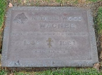 WOOD WAGNER, NATALIE  [ACTOR] - Los Angeles County, California   NATALIE  [ACTOR] WOOD WAGNER - California Gravestone Photos