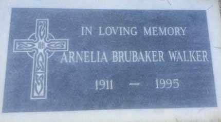 BRUBAKER WALKER, ARNELIA - Los Angeles County, California | ARNELIA BRUBAKER WALKER - California Gravestone Photos