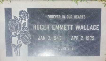 WALLACE, ROGER - Los Angeles County, California   ROGER WALLACE - California Gravestone Photos
