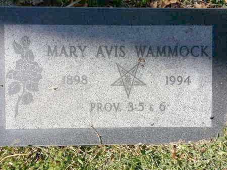 WAMMOCK, MARY - Los Angeles County, California   MARY WAMMOCK - California Gravestone Photos