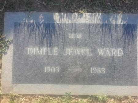 JEWEL WARD, DIMPLE - Los Angeles County, California   DIMPLE JEWEL WARD - California Gravestone Photos