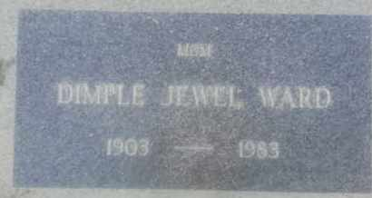 JEWEL WARD, DIMPLE - Los Angeles County, California | DIMPLE JEWEL WARD - California Gravestone Photos