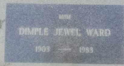 JEWEL WARD, DIMPLE - Los Angeles County, California | DIMPLE JEWEL WARD - California Gravestone Photos