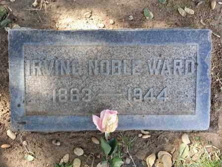 WARD, IRVING - Los Angeles County, California | IRVING WARD - California Gravestone Photos