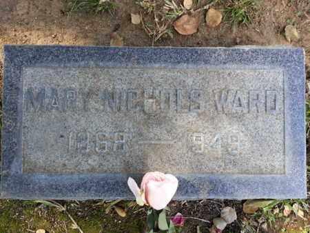 WARD, MARY - Los Angeles County, California   MARY WARD - California Gravestone Photos