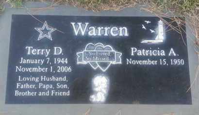 WARREN, TERRY - Los Angeles County, California   TERRY WARREN - California Gravestone Photos