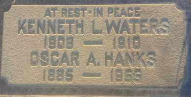 HANKS, OSCAR - Los Angeles County, California | OSCAR HANKS - California Gravestone Photos