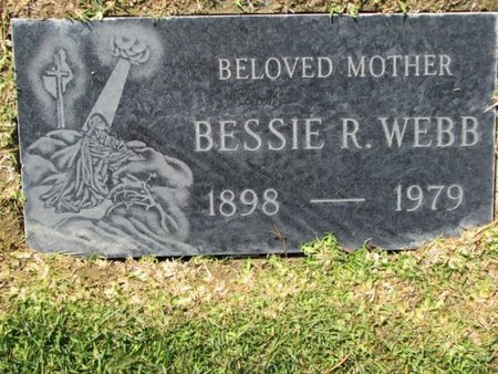 COOPER WEBB, BESSIE RAE - Los Angeles County, California   BESSIE RAE COOPER WEBB - California Gravestone Photos