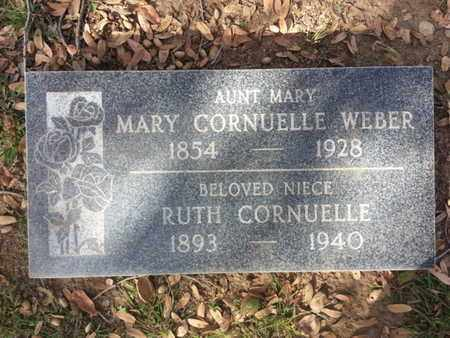 CORNUELLE WEBER, MARY - Los Angeles County, California   MARY CORNUELLE WEBER - California Gravestone Photos
