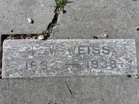 WEISS, I. W. - Los Angeles County, California | I. W. WEISS - California Gravestone Photos