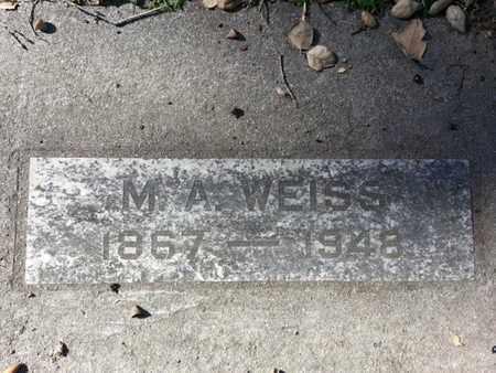WEISS, M.A. - Los Angeles County, California | M.A. WEISS - California Gravestone Photos