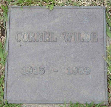 WILDE, CORNEL  [ACTOR] - Los Angeles County, California | CORNEL  [ACTOR] WILDE - California Gravestone Photos