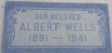WELLS, ALBERT - Los Angeles County, California | ALBERT WELLS - California Gravestone Photos