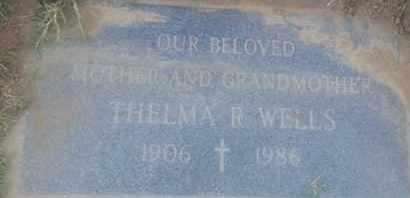WELLS, THELMA - Los Angeles County, California | THELMA WELLS - California Gravestone Photos