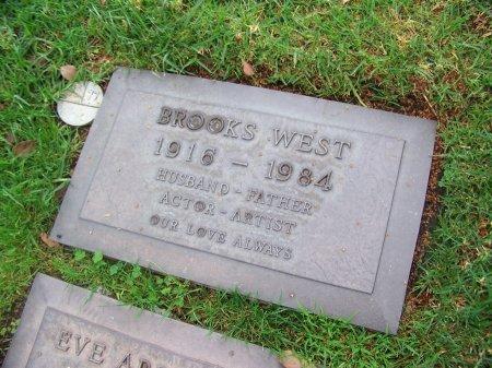 WEST, BROOKS - Los Angeles County, California   BROOKS WEST - California Gravestone Photos