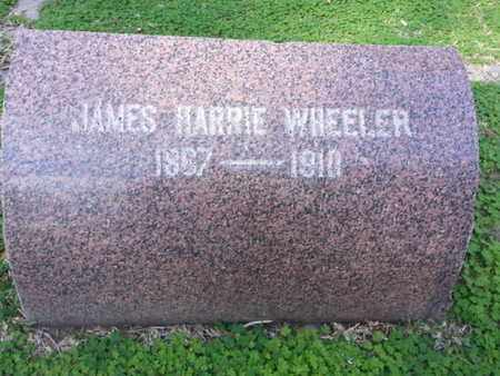 WHEELER, JAMES HARRIE - Los Angeles County, California | JAMES HARRIE WHEELER - California Gravestone Photos
