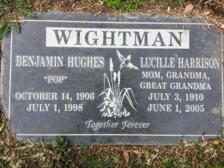 WIGHTMAN, BENJAMIN H. - Los Angeles County, California | BENJAMIN H. WIGHTMAN - California Gravestone Photos