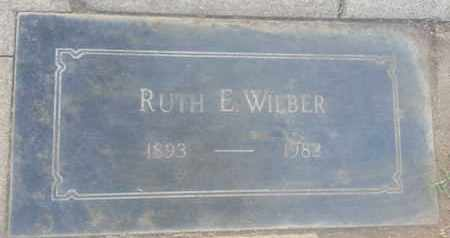 WILBER, RUTH - Los Angeles County, California | RUTH WILBER - California Gravestone Photos