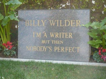 WILDER, BILLY - Los Angeles County, California | BILLY WILDER - California Gravestone Photos