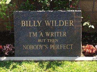"WILDER, SAMUEL ""BILLY""  (DIRECTOR/PRODUCER) - Los Angeles County, California | SAMUEL ""BILLY""  (DIRECTOR/PRODUCER) WILDER - California Gravestone Photos"