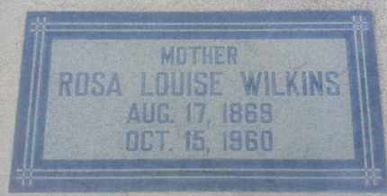 WILKINS, ROSA - Los Angeles County, California | ROSA WILKINS - California Gravestone Photos