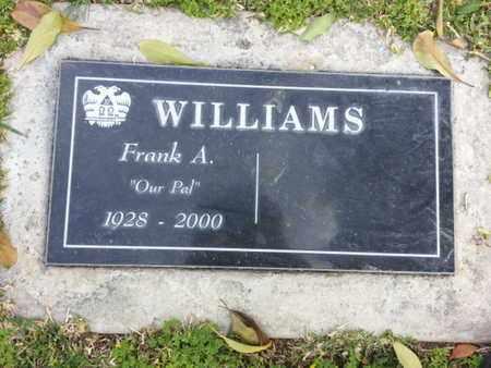 WILLIAMS, FRANK A. - Los Angeles County, California | FRANK A. WILLIAMS - California Gravestone Photos