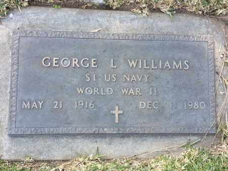 WILLIAMS, GEORGE L. - Los Angeles County, California | GEORGE L. WILLIAMS - California Gravestone Photos