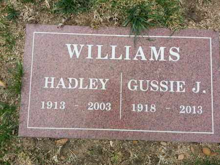 WILLIAMS, GUSSIE J. - Los Angeles County, California | GUSSIE J. WILLIAMS - California Gravestone Photos
