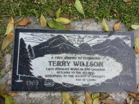 WILLSON, TERRY - Los Angeles County, California | TERRY WILLSON - California Gravestone Photos