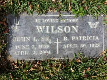 WILSON SR, JOHN L. - Los Angeles County, California | JOHN L. WILSON SR - California Gravestone Photos