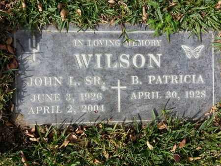 WILSON, JOHN L, SR - Los Angeles County, California   JOHN L, SR WILSON - California Gravestone Photos
