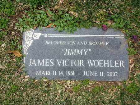 WOEHLER, JAMES VICTOR - Los Angeles County, California | JAMES VICTOR WOEHLER - California Gravestone Photos