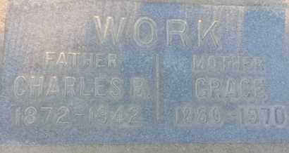 WORK, CHARLES - Los Angeles County, California | CHARLES WORK - California Gravestone Photos