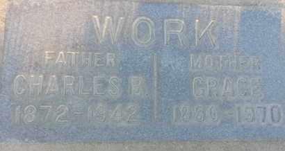 WORK, GRACE - Los Angeles County, California | GRACE WORK - California Gravestone Photos