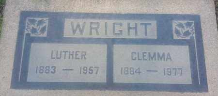 WRIGHT, CLEMMA - Los Angeles County, California   CLEMMA WRIGHT - California Gravestone Photos