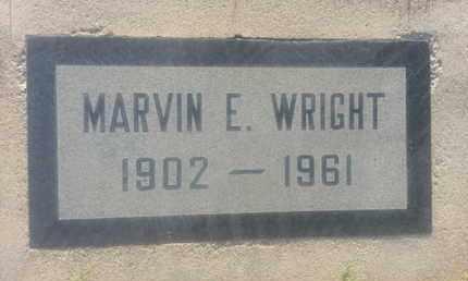 WRIGHT, MARVIN - Los Angeles County, California   MARVIN WRIGHT - California Gravestone Photos