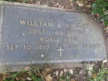 WRIGHT, WILLIAM B. - Los Angeles County, California | WILLIAM B. WRIGHT - California Gravestone Photos