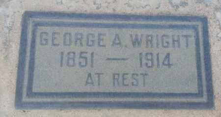 WRIGHTQ, GEORGE - Los Angeles County, California | GEORGE WRIGHTQ - California Gravestone Photos