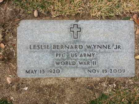 WYNNE JR., LESSLIE B. - Los Angeles County, California | LESSLIE B. WYNNE JR. - California Gravestone Photos
