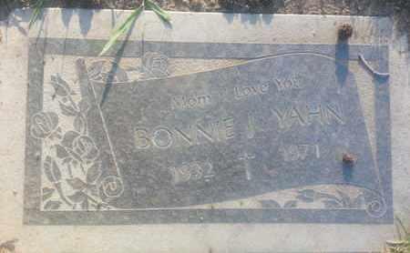 YAHN, BONNIE - Los Angeles County, California | BONNIE YAHN - California Gravestone Photos