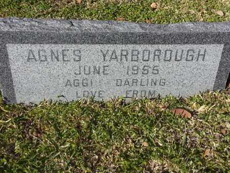 YARBOROUGH, AGNES - Los Angeles County, California | AGNES YARBOROUGH - California Gravestone Photos